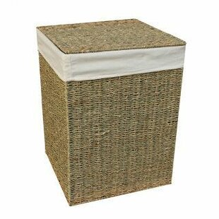 Square Wicker Laundry Basket By Brambly Cottage