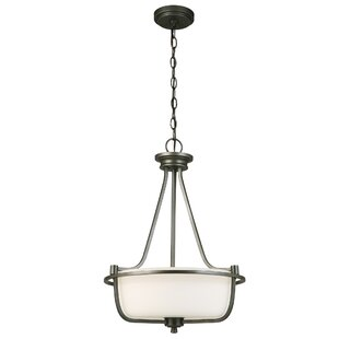 Red Barrel Studio Cintron 3-Light Bowl Pendant