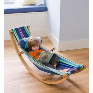 Delicieux Rocking Cotton Hammock With Stand
