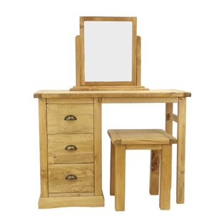 Sarkar Dressing Table Set With Mirror By Alpen Home
