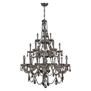 Astoria Grand Doggett 21-Light Chandelier