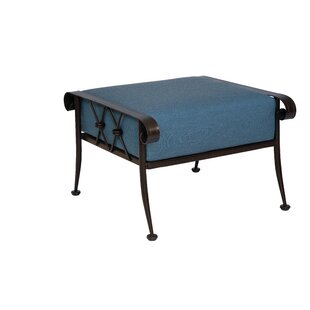 Woodard Derby Ottoman With Cushion