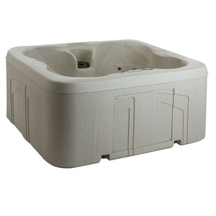 Rock Solid Simplicity 4-Person 13-Jet Plug And Play Hot Tub By Lifesmart Spas