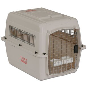 Vari Traditional Dog Kennel® in Bleached Linen by Petmate