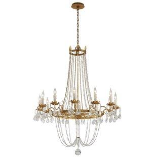 Astoria Grand Welcher 12-Light Empire Chandelier