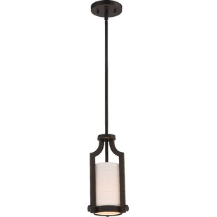Three Posts Bullen 1-Light Cylinder Pendant
