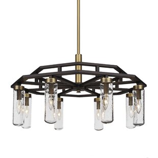 Cherish 6-Light Geometric Chandelier by Brayden Studio