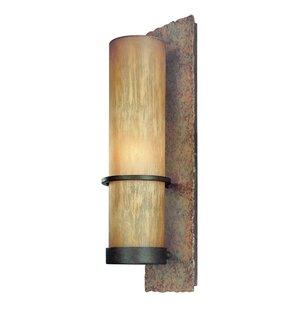 Patton 1-Light Outdoor Sconce By Loon Peak