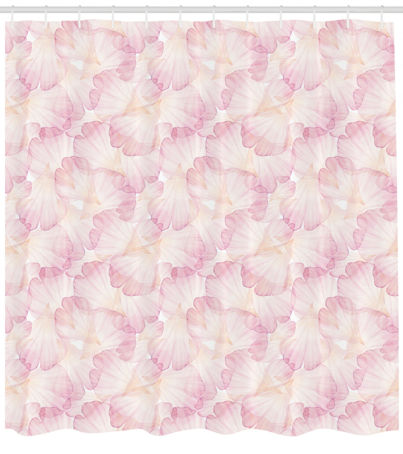 East Urban Home Pastel Shower Curtain