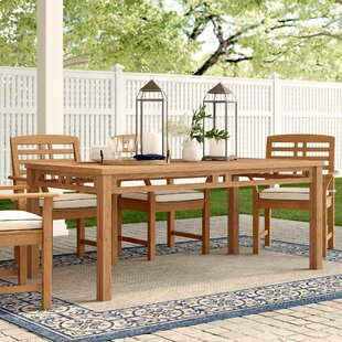 Calila Solid Wood Dining Table by Birch L..