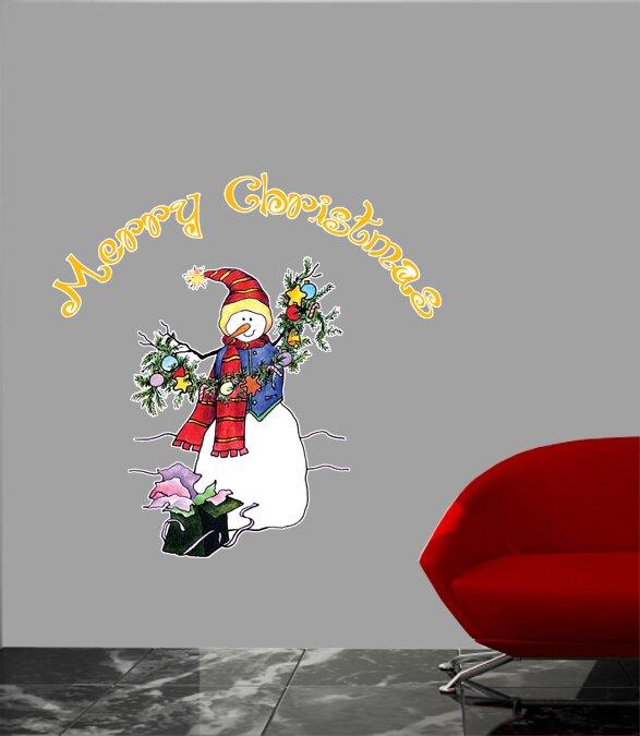 Wallhogs Schmeltzer Snowman Cutout Wall Decal Wayfair