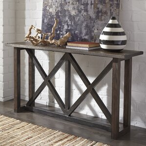 bynum console table - Narrow Sofa Table