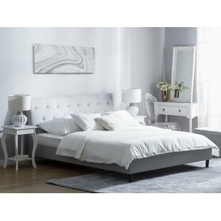 Stolle European Double Upholstered Bed Frame By Ophelia & Co.