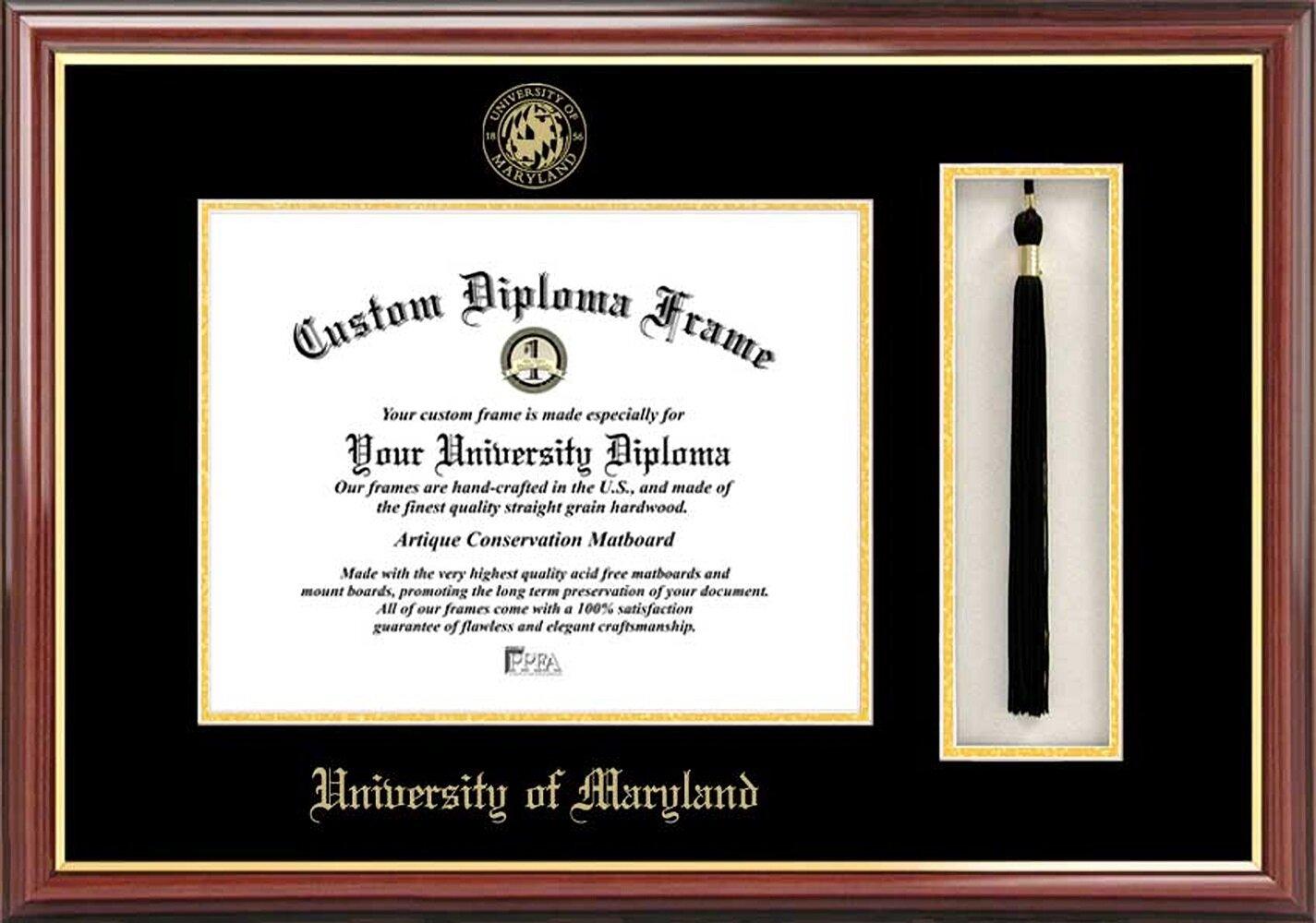 Diploma Frame Deals University Of Maryland College Park Petite Tassel Diploma Picture Frame Wayfair