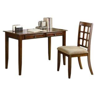 Andover Mills Eberhart Writing Desk and Chair Set