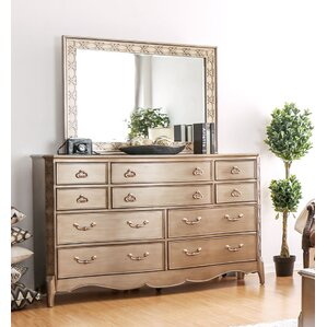 Gisella 10 Drawer Dresser by Willa Arlo Interiors