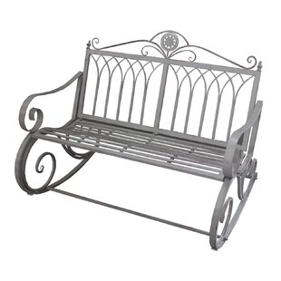 Curtiss Ornate Traditional Rocker Bench