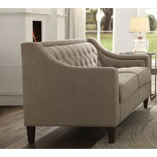 Riverside Drive Loveseat by Charlton Home