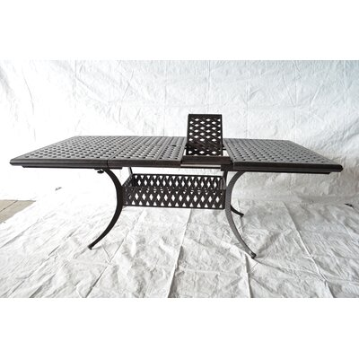 Nola Metal Dining Table by Darby Home Co Coupon