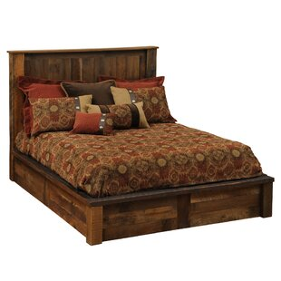 Reviews Barnwood Platform Bed by Fireside Lodge Reviews (2019) & Buyer's Guide
