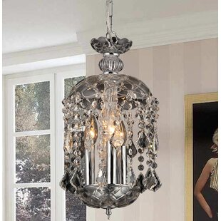 Warehouse of Tiffany Karla 3-Light Candle Style Chandelier