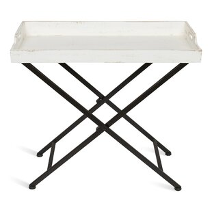 Roderica Wood and Metal Tray Table