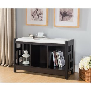 Winston Porter Ceballos Entry Wood Storage Bench