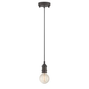 Williston Forge Ady 1-Light Bulb Pendant