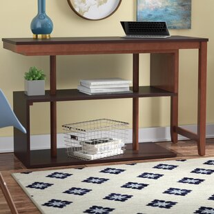 Browder Solid Wood L-Shape Executive Desk