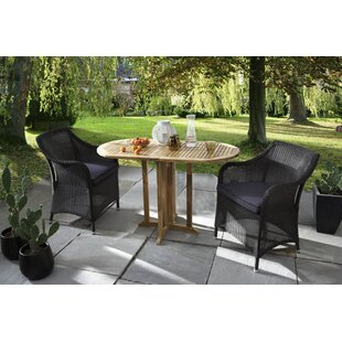 Sanderlin 2 Seater Bistro Set With Cushions By Sol 72 Outdoor