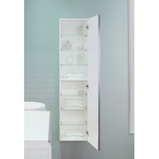 Free 15.75 W x 62.99 H Wall Mounted Cabinet by Ronbow