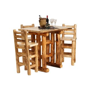 Aspen Heirloom Pub Table Mountain Woods Furniture
