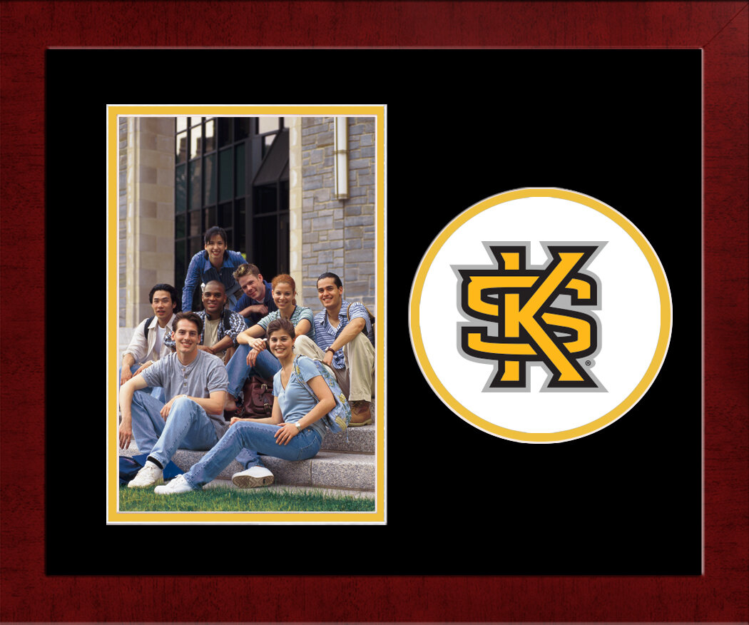 Campus Images Ncaa Kennesaw State Owls Spirit Picture Frame Wayfair