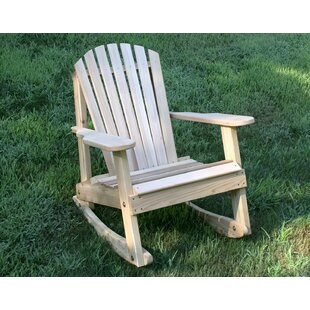 Marcum Rocking Adirondack Chair by Rosecliff Heights 2019 Coupon