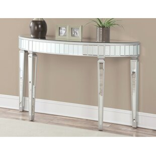 Splendid Mirrored Console Table By Mercer41