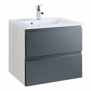 Held Möbel 60 cm Waschtisch Cardiff mit Armatur