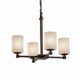 Brayden Studio Luzerne 4-Light Shaded Chandelier