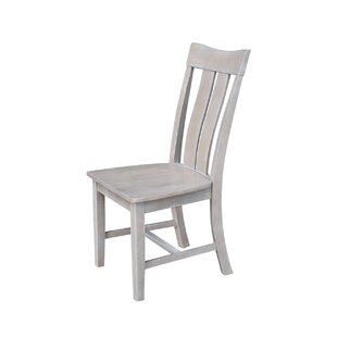 Mountain View Solid Wood Dining Chair (Set of 2) August Grove