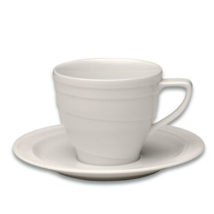 Eclipse Coffee Cup with Saucer