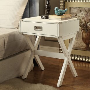Babs End Table With Storage