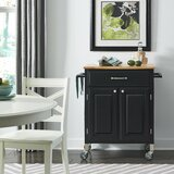 Hamilton Kitchen Cart by Charlton Home®