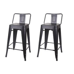 Capucine 24 Bar Stool (Set of 2) by Willi..