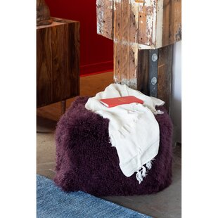 Malek Fur Pouf by Union Rustic