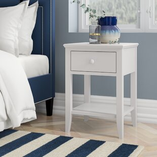 Merrick 1 Drawer Bedside Table By August Grove