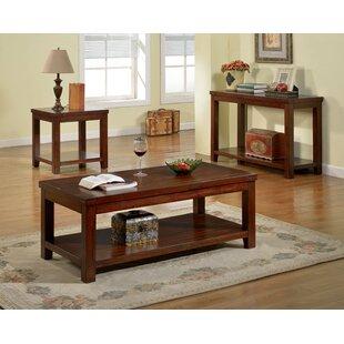 Three Posts Beryl 3 Piece Coffee Table Set