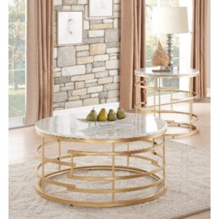 Minerva 2 Piece Coffee Table Set by Mercer41 2019 Coupon