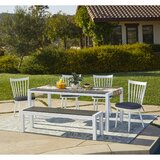Chenery 6 Piece Indoor/Outdoor Dining Set with Cushions