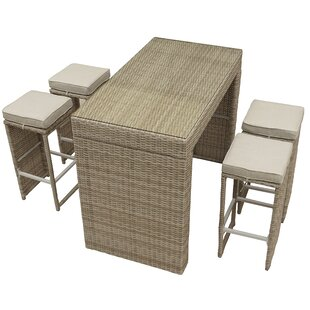 Brinkley 5 Piece Bar Height Dining Set by..