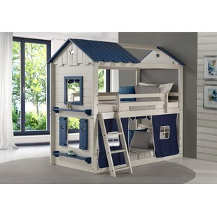 Schmeling Twin Over Twin Bunk Bed