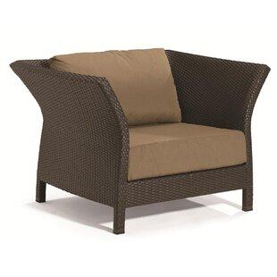 Evo Patio Chair with Cushions by Tropitone